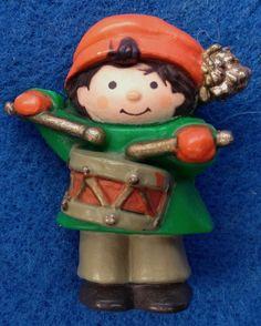 86eadf315ed0e Vintage Hallmark Christmas Lapel Pin Little Drummer Boy Plastic Brooch Drummer  Boy