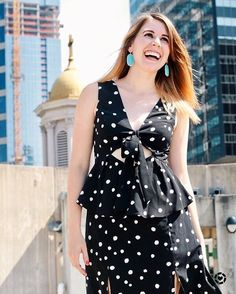 This polka dot dress hit the blog this morning! It's currently $84.90 but after the #NordstromSale it goes up to $130! Shop this steal while you can here >>> http://liketk.it/2sdI8 @liketoknow.it #liketkit #LTKunder100