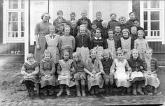LK second grade class picture in the 1950s, can you spot her? Second in the second row :)