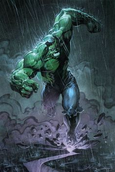 Hulk Don't Like Rain  Auction your comics on http://www.comicbazaar.co.uk