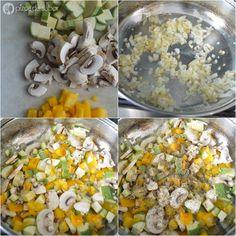 Lasaña vegetariana al sartén (lista en 25 minutos o menos) www.pizcadesabor.com