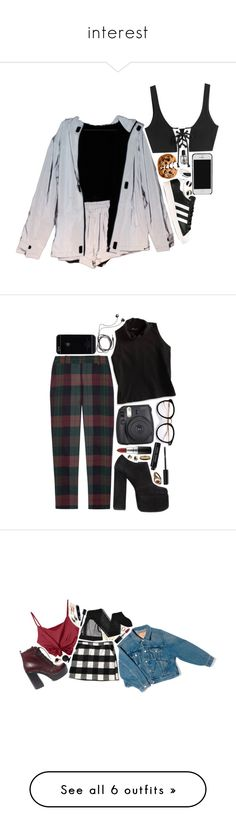 """""""interest"""" by neurotic-mind ❤ liked on Polyvore featuring Puma, adidas Originals, Nestlé, Witchery, Kate Spade, Theory, Jeffrey Campbell, American Eagle Outfitters, Diane Von Furstenberg and MAC Cosmetics"""