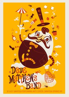 GigPosters.com - Dave Matthews Band  3 colors