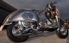 Jaw Dropping Steampunk Vespa - VESPA Las Vegas