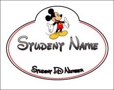 Desk name tags I made. I will fill in the student info when I get my roster. I created this in Word.