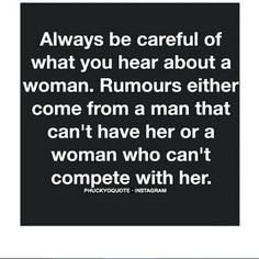 Dont believe everything u hear!