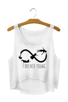 forever young crop top - Fresh-tops.com