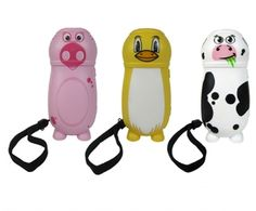 Eco dynamo torch,Wind up childrens torch,childrens torch,wind up torch,animal torch,penguin torch