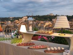 Florence tower Terrazzo, Florence, Table Decorations, Home Decor, The View, Tower, Restaurants, Interior Design, Home Interiors