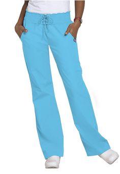 Cherokee Workwear smocked waist scrub pants | Scrubs and Beyond