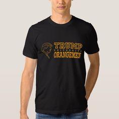 Funny Trump University Orangemen Athletic Teams T Shirt.#trump #donaldtrump #trumpuniversity #tshirts #shirts #funny #politics #2016 #elections #campaign #president