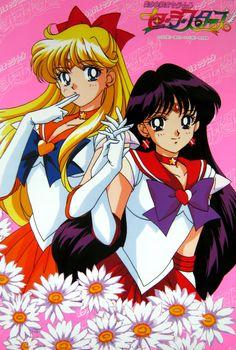 Super Sailor Venus & Super Sailor Mars