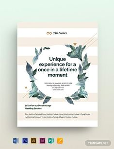Instantly Download Wedding Planner Flyer Template, Sample & Example in Microsoft Word (DOC), Adobe Photoshop (PSD), Adobe InDesign (INDD & IDML), Apple Pages, Microsoft Publisher, Adobe Illustrator (AI) Format. Available in (US) 8.5x11, (A4) 8.27x11.69 inches + Bleed. Quickly Customize. Easily Editable & Printable.