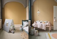 Kids room: Imaginary creatures, mixed patterns & fine colors