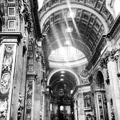 St Peter's Cathedral in all its glory! #travel #rome