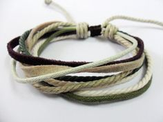 Adjustable  Multicolour Cotton Ropes and soft by beautiful365, $3.00