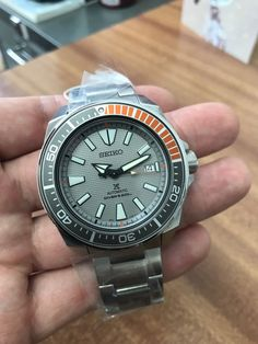 The watch is a very nice watch and this one has not been plagued with the misaligned bezel as shown in the second photo. Seiko Samurai, Special Delivery, Seiko Watches, Royal Mail, Cool Watches, Omega Watch, Dawn, Europe, Mens Fashion