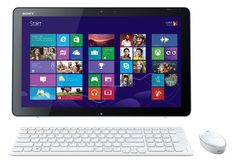 """""""Want, want, want"""" - Ginah Monroy about the new Vaio Tap."""