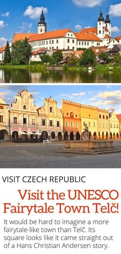 Visit Telc Czech Republic - Visit one of the most beautiful towns in the Czech Republic, Telc! This UNESCO world heritage site will stun you! Here are all the things to do in Telc! #unesco #europe #czechrepublic #travel #100years
