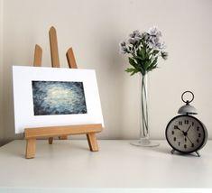 Cloudy Night Sky - original watercolour painting by Karolina Gassner Cloudy Nights, Watercolour Painting, Night Skies, Floating Nightstand, Contemporary Art, Abstract Art, Sky, The Originals, Handmade Gifts