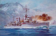 Destroyer Z10 Hans Lody, Kriegsmarine.
