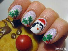 Christmas mani