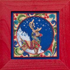 Reindeer (Jim Shore) - Cross Stitch Kit