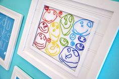 scan & stitch their own little artwork