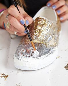 Festival style DIY: customise your trainers