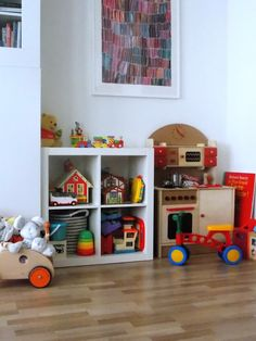 The Home of Bambou: Toys Organisation
