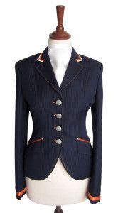 Show Jacket - Short Dressage Jacket - Juuls Jackets - Riding wear - Equestrian - Clothes - Dutch colors