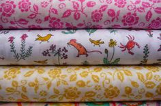 Liberty at materialiseyourlife.com Japanese Fabric, Art Studios, Textile Art, Liberty, Fabrics, Things To Come, Textiles, Colours, Tejidos