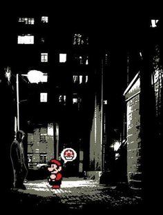 #nintendo  Mario?!  Pull yourself together, man!