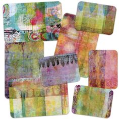 ART POPS™ Cards - Printmaker Pro Collection ART POPS™: the mixed media art pieces inspired by the whimsical, saturated pages of Roben-Marie's art journals. ART POPS™ provide bold and fanciful POPS of
