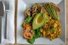Veggieful: Big Vegan Breakfast Recipe <3 My favorite kind!