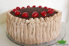 Cacau Verde: Bolo de chocolate, chantilly e cereja - Cacau Maluca