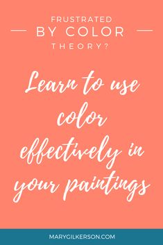 Teaching Color Theory used to frustrate me. Until I realized there was a better way. The easiest way to discover color is through painting. Painting Lessons, Painting Tips, Art Lessons, Painting & Drawing, Painting Videos, Tole Painting, Watercolour Painting, Intro To Art, Impressionist Paintings