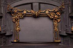 Model of proscenium design for The Phantom of the Opera. Maria Bjornson.