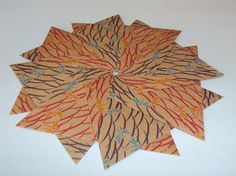 Origami Doilies with Dragonfly Pattern (Set of Two) ($8.00 on Etsy)