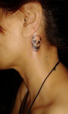 Cute Skull tattoo..