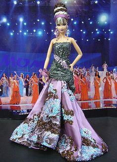 Barbie Miss, Baby Barbie, Barbie Princess, Girls Fancy Dresses, Nice Dresses, Miss Pageant, Barbie Clothes, Barbie Stuff, Vintage Barbie Dolls