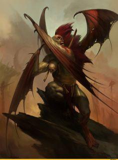 For Age of Sigmar Battletome: Flesh-Eater by Igor Sid Dark Fantasy Art, Fantasy World, Dark Art, Fantasy Artwork, Warhammer 40k Art, Warhammer Fantasy, Warhammer Armies, Vampires, Angel Demon