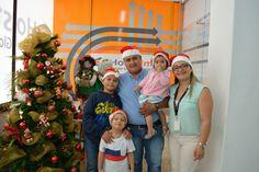 Nuestra administradora y su familia en #Navidad 🎄😊  #HostDime