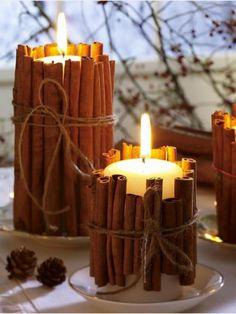 Veja aqui belas dicas para decorar a casa com velas. Gastando pouco dinheiro você pode fazer coisas fantásticas.