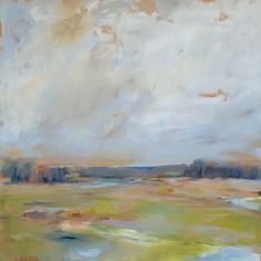 Love these paintings by Ritva Porter.  Wish this one had not been sold.