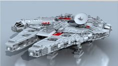 This is incredible.    CGI stop motion recreation of building the Millennium Falcon in Lego.