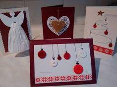 Kuvahaun tulos haulle helppoja joulukorttimalleja