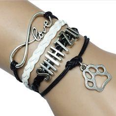 Shih Tzu Love Bracelet