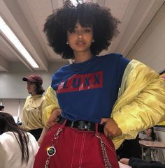 Discover recipes, home ideas, style inspiration and other ideas to try. Retro Outfits, Grunge Outfits, Vintage Outfits, Cool Outfits, Casual Outfits, Hip Hop Outfits, Black Girl Fashion, Look Fashion, 90s Fashion