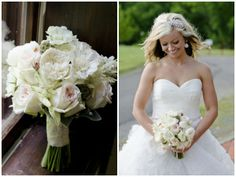 love this bouquet Photos by Brittany Anderson Photography // http://brittanyandersonphotography.com/